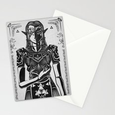 Legend of Zelda Princess Zelda Geek Art Portrait Stationery Cards
