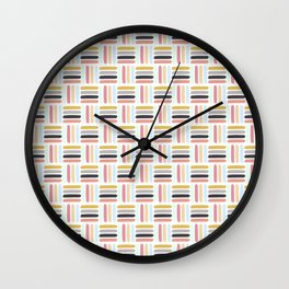 AFE Modern Basket Weave Wall Clock