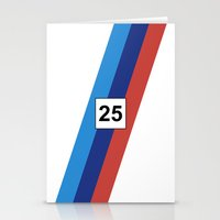 racing Stationery Cards featuring RACING COLOURS- BMW RACING by MATT WARING
