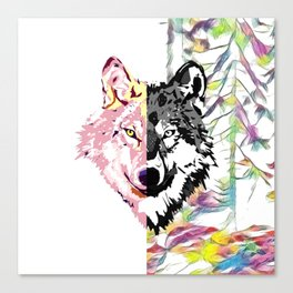 The Wolf Within Canvas Print