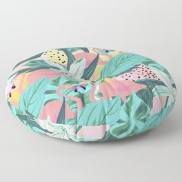 Flamingo Tropical #society6 #decor #buyart Floor Pillow