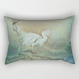 Haven of Solitude Rectangular Pillow