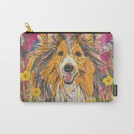 Sweet Summer Sheltie Carry-All Pouch