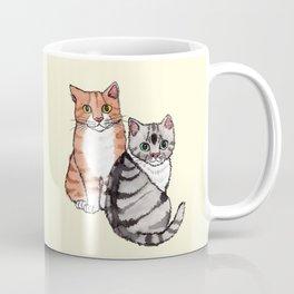 Two Cats Coffee Mug