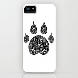 Bark & Bite iPhone Case