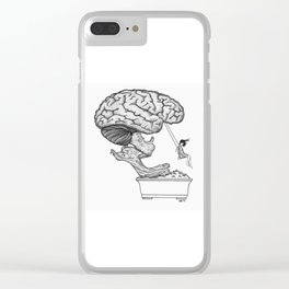 MENTAL GAMES Clear iPhone Case