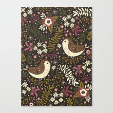 Sweet Robins Canvas Print