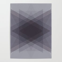 Triangles Merge Poster