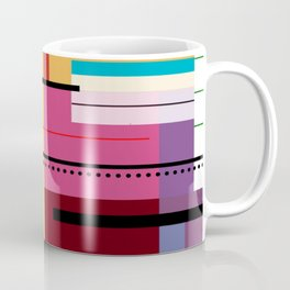 Parallels  lines and colours Coffee Mug