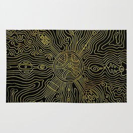 Heart of the crazy lines Rug