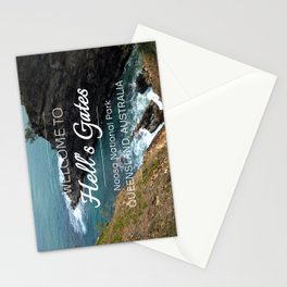 Hell's Gates, Australia Stationery Cards
