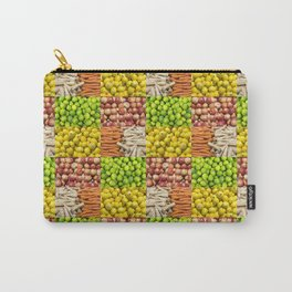 Produce Pattern Carry-All Pouch