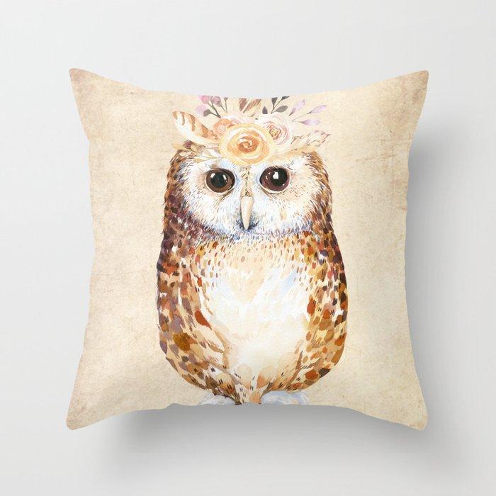 Owl Deko-Kissen