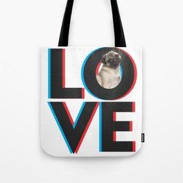 Love dog Tote Bag