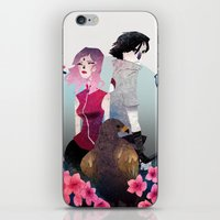 gore iPhone & iPod Skins featuring Glory and Gore go hand and hand by Serena Rocca