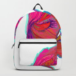 Bright abstract butterfly Backpack