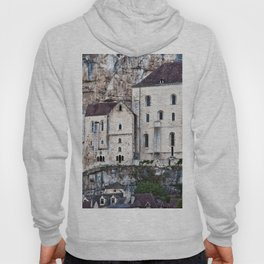 Medieval Facade of the French Castle in Rocamadour Hoody