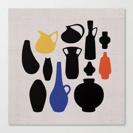 West German Ceramics Canvas Print