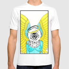 Halo Mens Fitted Tee MEDIUM White