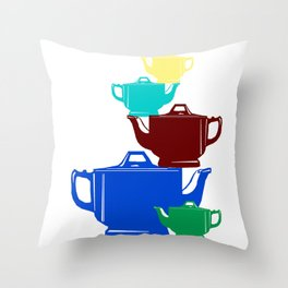 Favoriteware Stacked Pots Throw Pillow