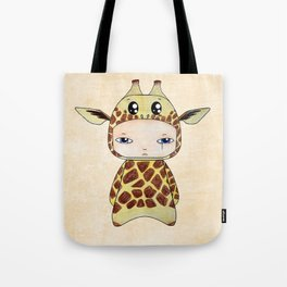 A Boy - Giraf Tote Bag