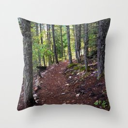 The Revelstoke Trail I Throw Pillow