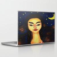 frida kahlo Laptop & iPad Skins featuring Frida Kahlo by ArtSchool