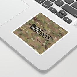 Military: Sniper (Camo) Sticker