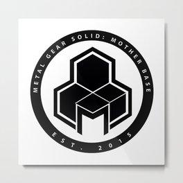 Mother Base Logo  Metal Print