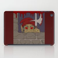 kindle iPad Cases featuring Peeking Redcap by Richard Fay