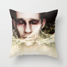 Refreshing Embrace Throw Pillow