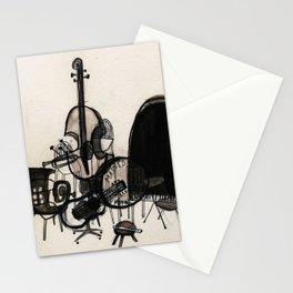 Musical Chairs Stationery Cards