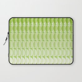 Leaves at springtime - a pattern in green Laptop Sleeve