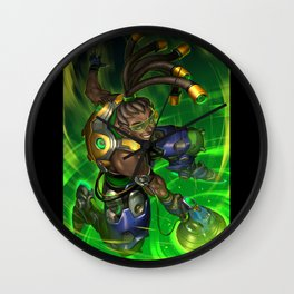 over lucio watch Wall Clock
