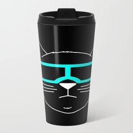 Cool Cat 1 Metal Travel Mug