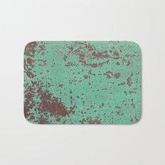 Copper Rusty Surface Bath Mat