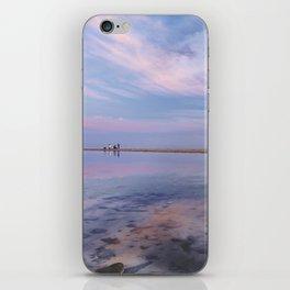 """Heaven walk"". Tarifa beach iPhone Skin"