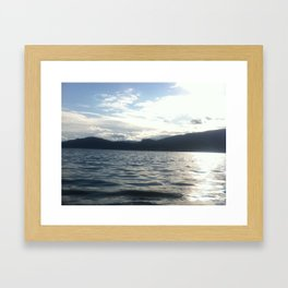 NORWEGIAN FJORD Framed Art Print
