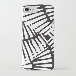 Basketweave-Ink iPhone Case