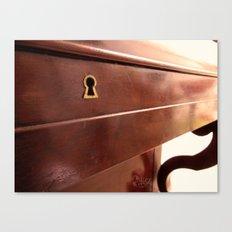 Secret lock Canvas Print