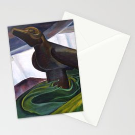 Emily Carr - Big Raven - Canada, Canadian Oil Painting - Group of Seven Stationery Cards