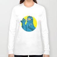pills Long Sleeve T-shirts featuring Pills, Pills, Pills!!! by Fransisqo82