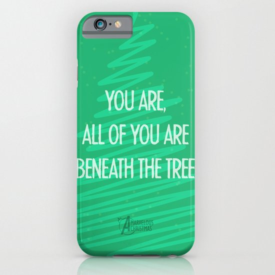 Beneath the tree iPhone & iPod Case