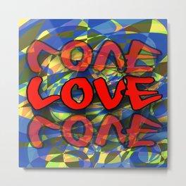 Crazy Love Metal Print