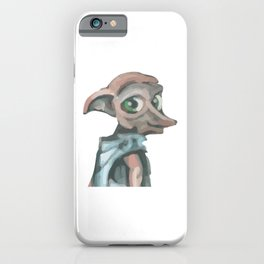 Magic cute Elf Watercolor iPhone Case