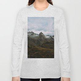 Alaskan Summer Nights in the Alpine Long Sleeve T-shirt
