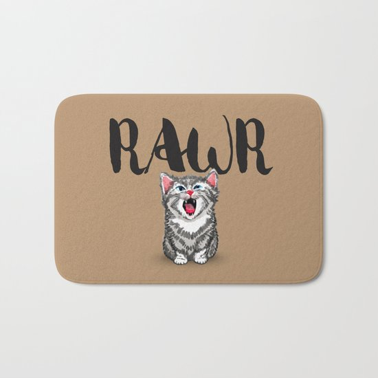 Little Pal, Big Roar Bath Mat