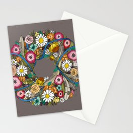 midsummer crown taupe Stationery Cards
