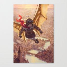 The Aviatrix Canvas Print