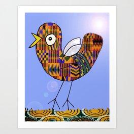 African Bird Art Print